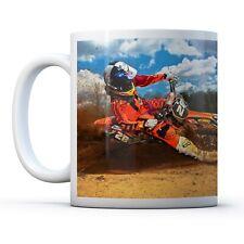 Motorcross Rider Biker- Drinks Mug Cup Kitchen Birthday Office Fun Gift #8087