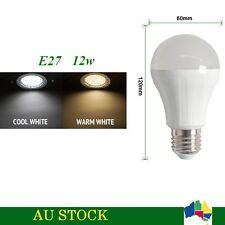 5 x AC 230V E27 LED 12W Globe Bulb TJ-A60 Light Lamp