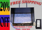 RCTimer RX-LCD5812 7'' 5.8GHz 32CH Diversity Receiver HD FPV Monitor USA
