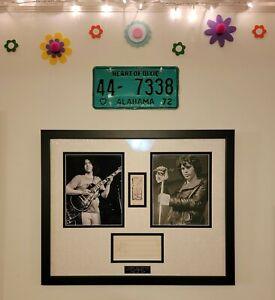 Jim Morrison and Jerry Garcia Autograph