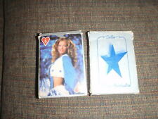 Vintage Dallas Cowboys Cheerleaders Playing Cards Set Complete NFL 1980 Rare