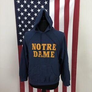 XL vintage 80s champion Notre Dame hoodie sweatshirt men's made in USA 2e830p
