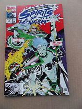 Ghost Rider / Blaze : Spirits of Vengeance 4 .  Marvel 1992  -     VF