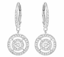 Swarovski Attract Light Dual Pierced Earrings, Clear Crystal Authentic 5168932