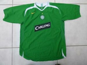 Classic Celtic FC away football shirt by Nike, Size Adult XXL
