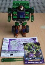 Transformers Energon combate clase demoledor Plus Accesorios instrucciones Stat