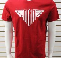 Jordan Men's Air Jordan Flight SS Graphic Tee Red/White 725019687 New With Tag