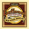 Ernie Ball 2043 Earthwood Regular Silk and Steel Acoustic Guitar Strings 13 - 56