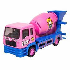 Sanrio Hello Kitty Die-Cast 6 inch Cement Mixer Truck Pink Genuine license Model