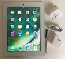#GRADE A-# Apple iPad 4th Generation 32GB, Wi-Fi, 9.7in - white + EXTRAS
