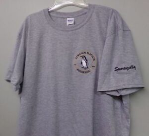 Penguin Nation Brand Embroidered T-Shirt S-6XL, LT-4XLT Pittsburgh WBS New