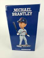 Michael Brantley Cleveland Indians Baseball SGA2015 Bobblehead NIB MLB New-3