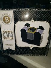 C6~New~Brybelly~6 Deck Automatic Card Shuffler Casino Battery Operated