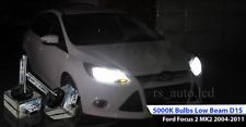 2x D1S Bulbs White Xenon 5000K Low Beam Headlights Ford Focus 2 MK2 2004-2011