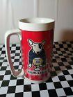 Vintage Bud Light Beer Spuds Mackenzie Thermo Serv Plastic Cup Mug Stein USA