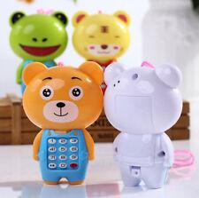 Cute Magic Baby Kids Cartoon Music Phone Toys Educational Learning Phone Gift