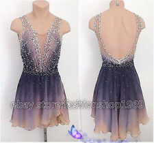 New style  Figure Ice Skating Dress Ice Skating Dress For Competition xx268