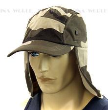 Sun Cap Ear Flap Neck Cover hat Sun Protector Fishing Hunting Hiking-Desert Camo