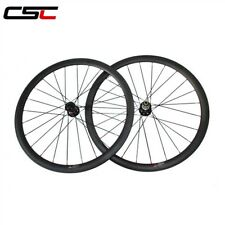 25mm Width 38mm Clincher Disc brake hub carbon wheels thru axle hub 12*100mm