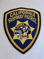 VINTAGE EUREKA CALIFORNIA HIGHWAY PATROL (CHiP's) PATCH Law Enforcement