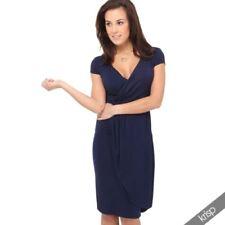Knee Length Viscose Dresses for Women's Tea