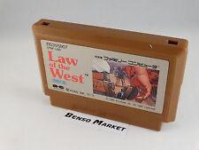 LAW OF THE WEST NINTENDO FAMICOM NES GIAPPONESE 8BIT JAP JP NTSC-J IMPORT PNF-LW
