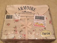 NEW American Pacific The Armoire collection Twin Sheet Set 100% Cotton Allegra