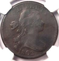 1802 Draped Bust Large Cent 1C S-242 - NGC VF Details - Rare Early Penny