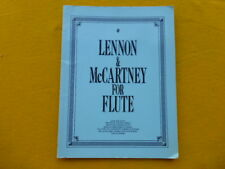 Lennon & McCartney for Flute - 56 Songs arranged for Solo Flute - Sheet Music Bk