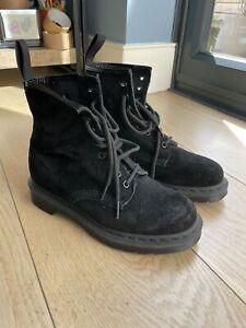 Dr Marten Size 5 Black 1460 Mono Suede Ankle Boots