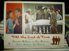 TILL THE END OF TIME, orig 1946 LC #5 (Guy Madison, Robert Mitchum)