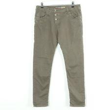 PLEASE Jeans P78 Boyfriend Fango Braun Gr. L