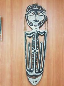 Papua New Guinea Tribal Skull Rack