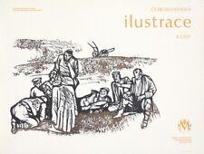 Original Vintage Poster Czech Illustrations Exhibition 1978