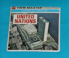 vintage UNITED NATIONS VIEW-MASTER REELS new/sealed