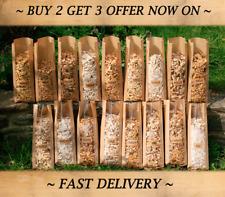 Food Smoker Wood chips 3x1L APPLE CHERRY OAK ALDER HICKORY BEECH MAPLE PEAR PLUM