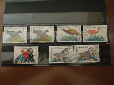 K579 SURINAME BIRDS  POSTAL.USED  SCARSE  1985-93