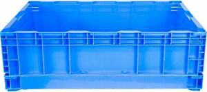 Collapsible Folding Stackable Plastic Storage Crate Large 48L