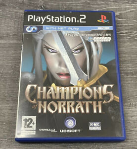 CHAMPIONS OF NORRATH PLAYSTATION 2 GAME WITH MANUAL