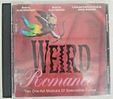 OOP Alan Menken WEIRD ROMANCE (Original Off-Bwy Cast) Burstein, Greene, *VG*