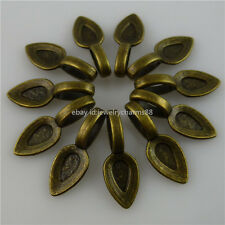 12269 50PCS 21mm Alloy Glue on Bails Pendant Bail FOR Necklaces Bracelet Loop