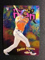 D78 2020 Topps Finest the Man #FTM-12 Yordan Alvarez RC - Houston Astros Rookie