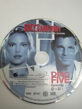 Grey's Anatomy 2nd Season -  Disc 5 Only - Replacement Disc DVD
