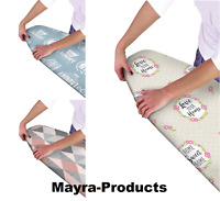 New Easy Multi Fit Elasticated Ironing Board Cover Double Layer Backing Washable