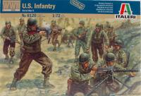 WWII US Infantry Figure Plastic Kit 1:72 Model 6120 ITALERI