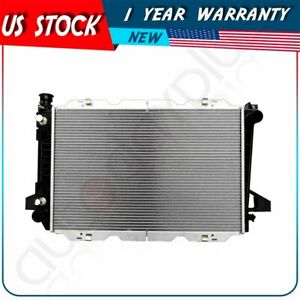 For 1985-1996 Ford Bronco V8 5.0L 5.8L New Replacement Aluminum Radiator 1451