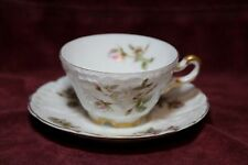 Antique Carl Tielsch C.T Demitasse Cup and Saucer Made in Germany c. 1878-1895