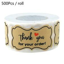 250pcs Thank You for Your Order Stickers DIY Baking Packaging Labels Seal