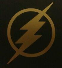 The Flash Vinyl Sticker GOLD GLOSS