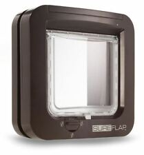 SureFlap Microchip Cat Flap Brown 4-way Locking Genuine